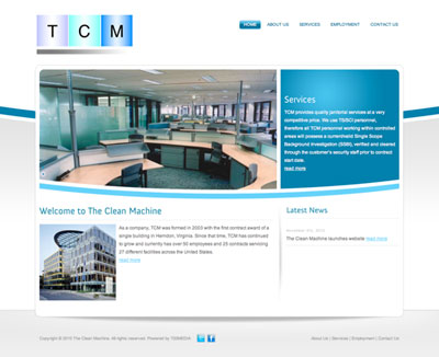 The Clean Machine website